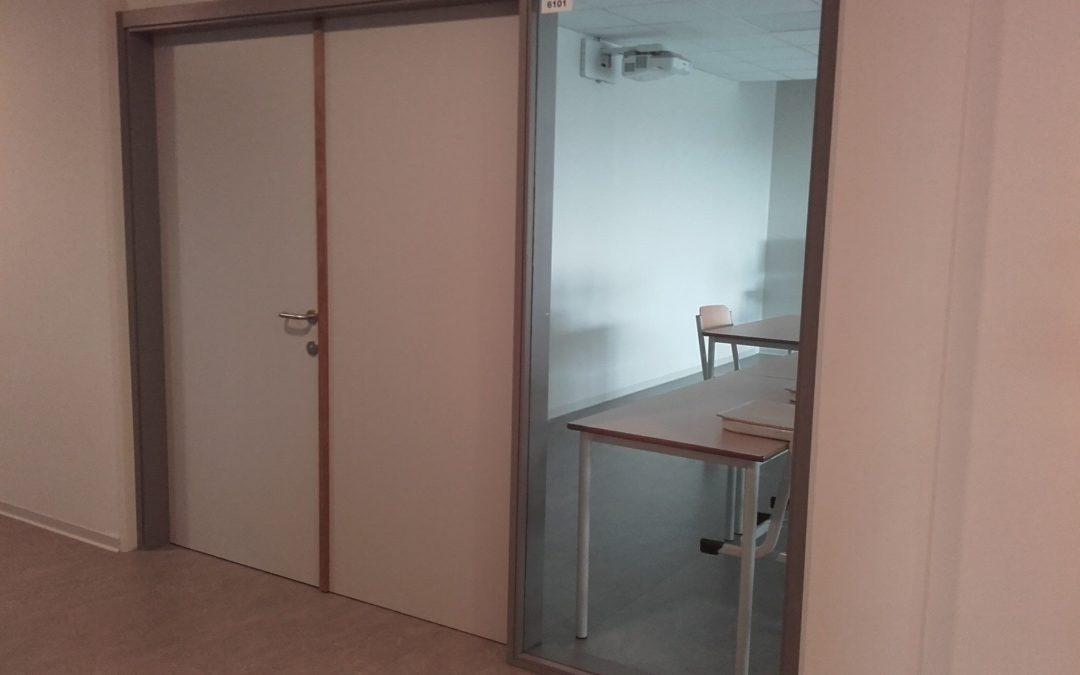 Portes, double portes et encadrements vitrés